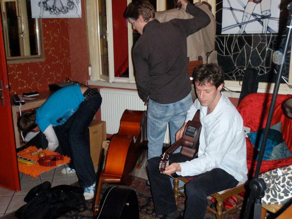 unser erster Gig im Uhu 2008
